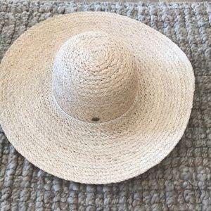 Cute straw sun hat.